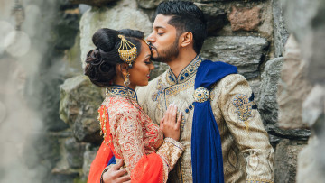 East Indian bridal collection