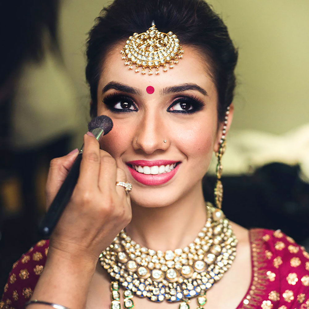 EAST INDIAN WEDDING MAKEUP & HAIRSTYLE SERVICES